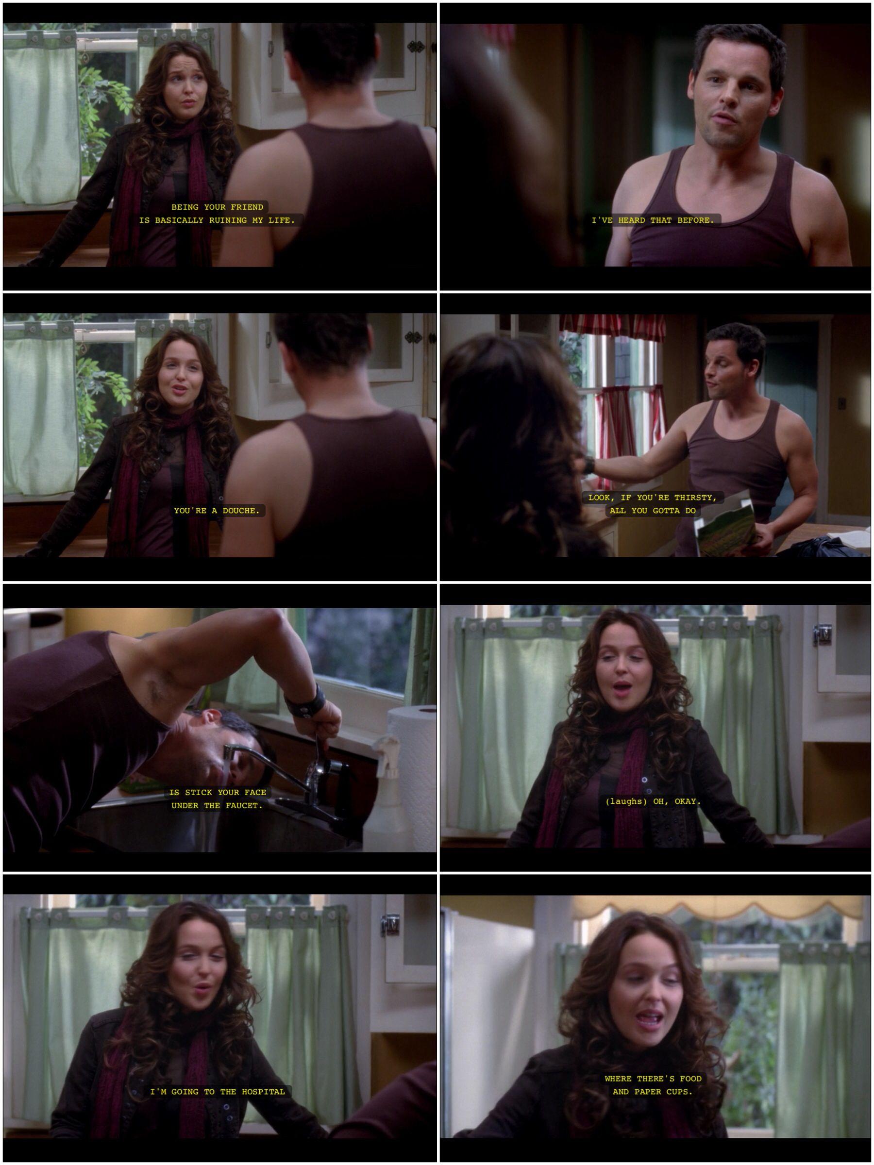 Love this scene!! (Grey\'s Anatomy) | TV | Pinterest | Anatomy, Scene ...