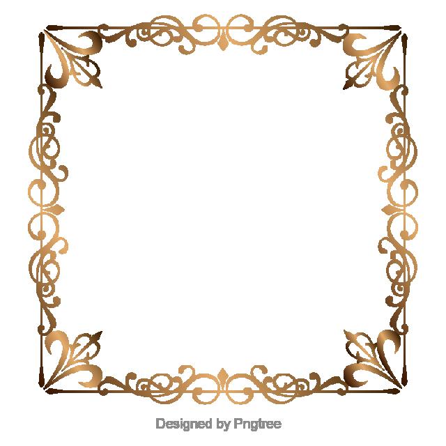 Golden Border Border Vector Boundary Golden Vector Picture Frame Vector Frame Border Gold Royal Golden Decorative Borders Picture Frame Shelves School Images