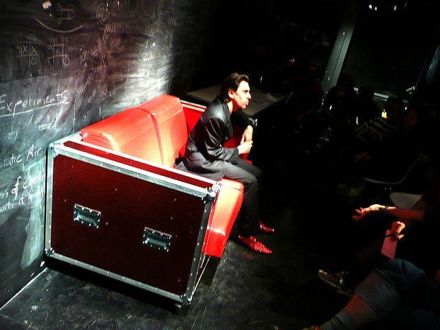 Flightcase sofa- stuff to sit on?