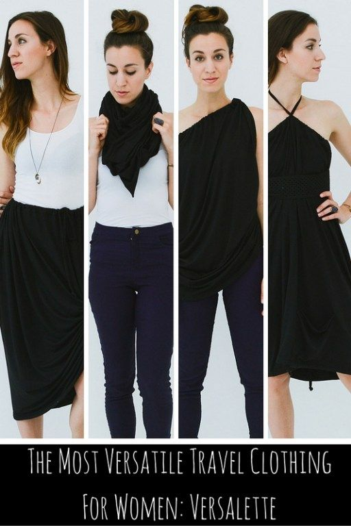 the most versatile travel clothing for women versalette
