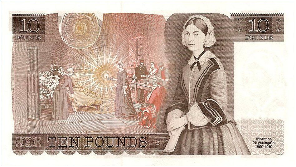 Florence Nightingale 1820 - 1910 worked in the Crimea war hospital ...