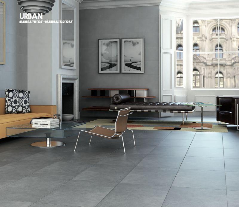 Boden Fliesen - Badfliesen - Küchenfliesen Sol - URBAN Grau 565 - küche fliesen boden