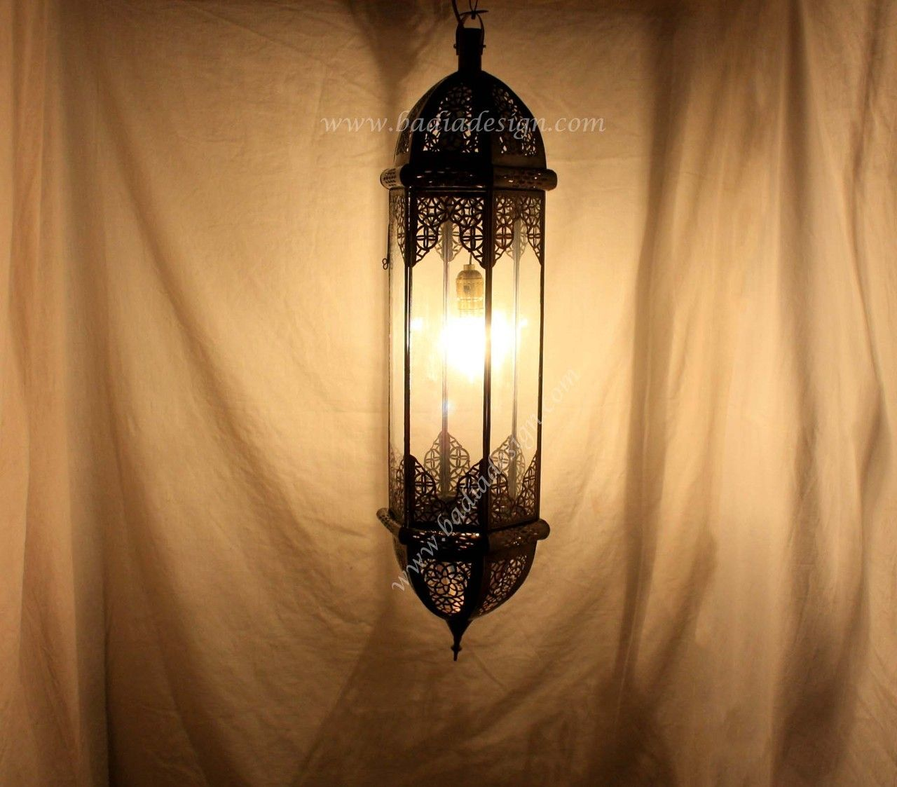 Perfect Badia Design Inc Store   Moroccan Hanging Lantern With Clear Glass    LIG128, $210.00 ( Good Looking