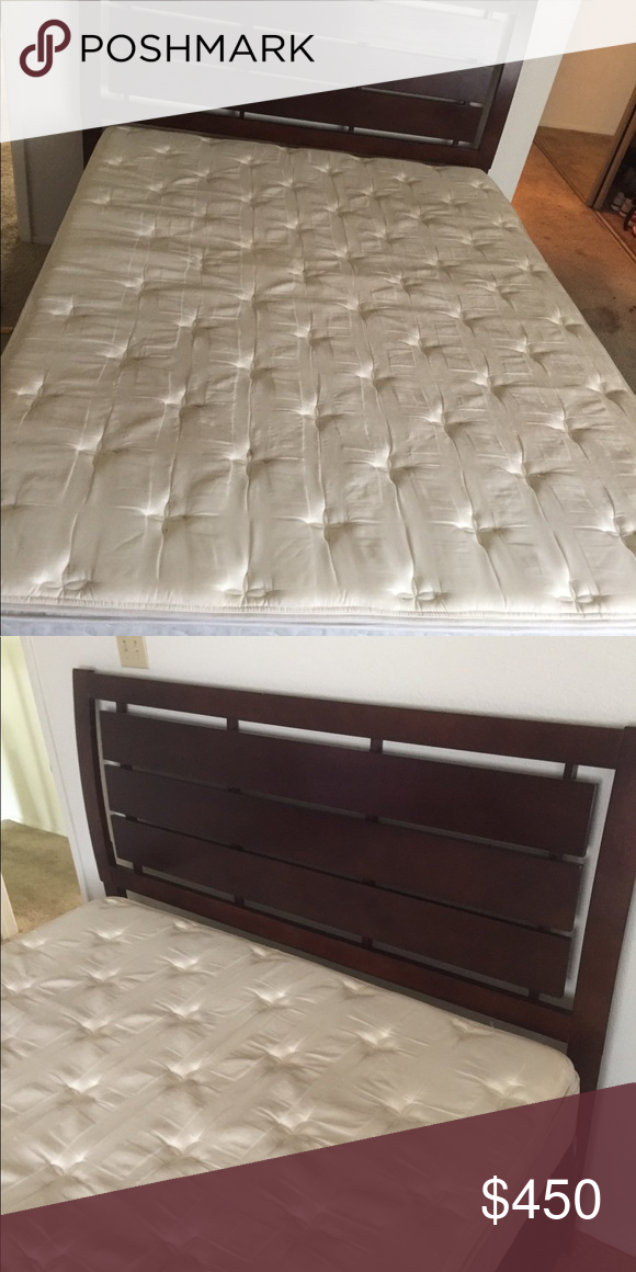 Bed Queen Size Bed Mattress Box Frame Furniture Other Bed