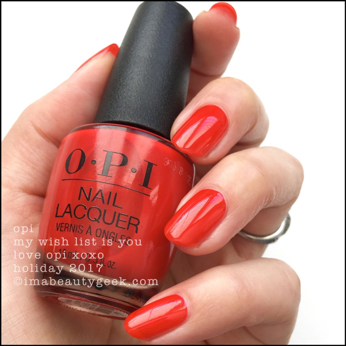 OPI My Wish List Is You – Love OPI XOXO Holiday 2017 | Crazy for ...
