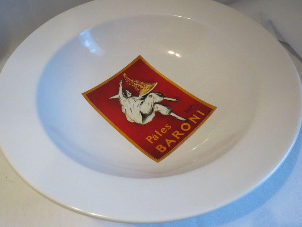 baroni plate vintage dinner Barn pottery