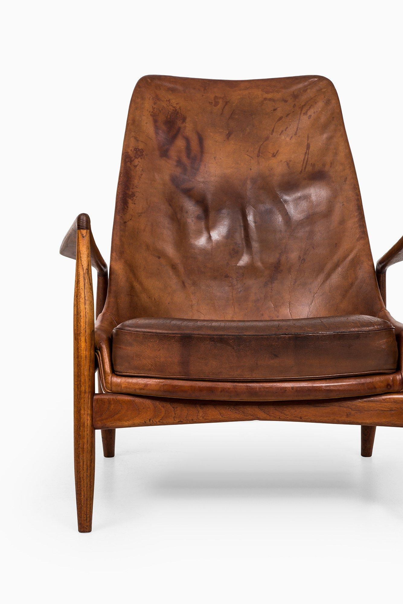 Sold Studio Schalling Leather Easy Chair Art Chair Easy Chair