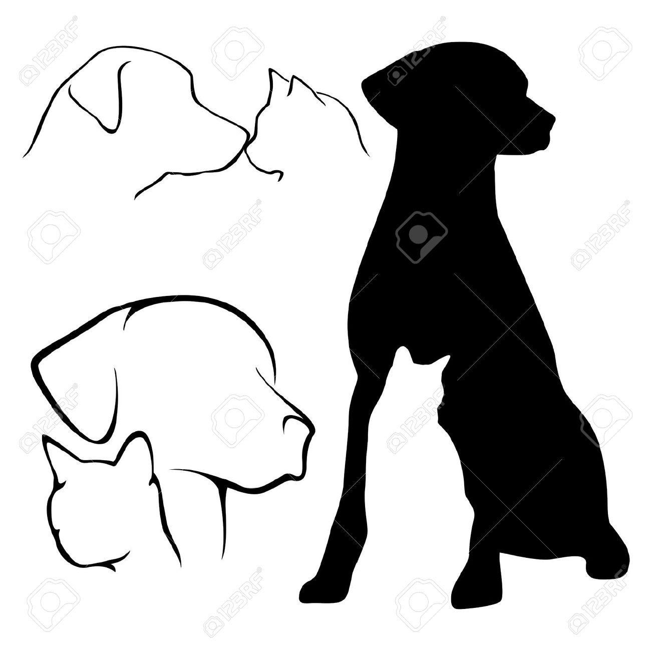 labrador silhouette google search patterns for crafts rh pinterest com