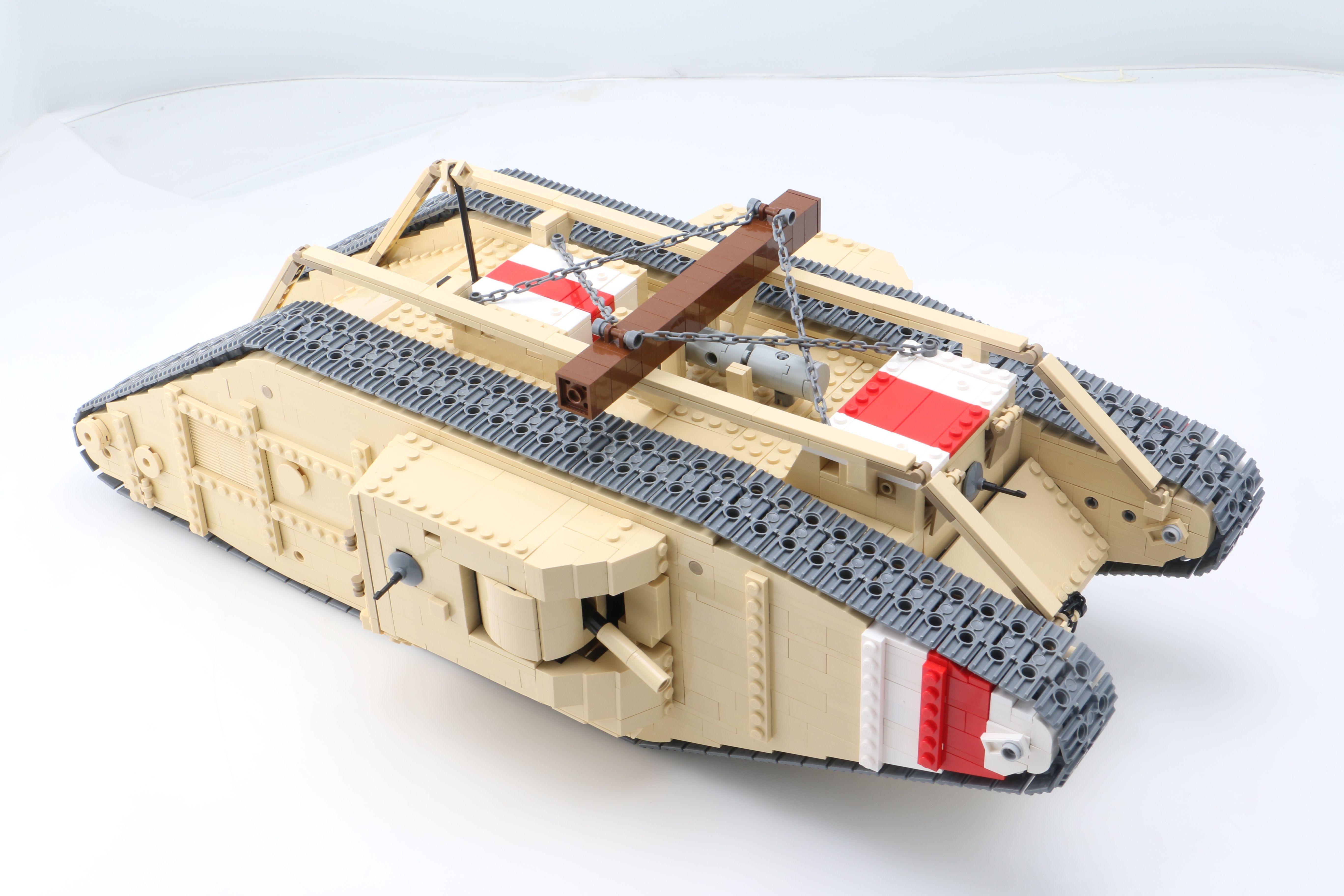 Lego Mk V Tank Cooles Lego Lego