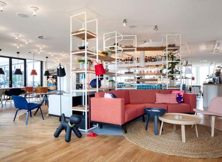 Zoku Hotel By Concrete Amsterdam Netherlands Retail Design Blog