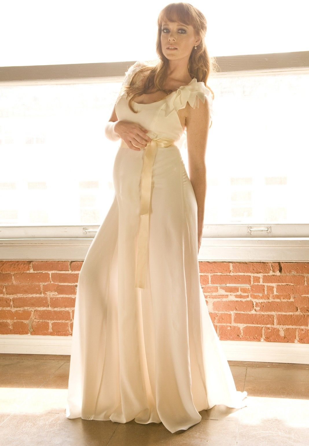 Maternity dresses for weddings  Scoop Romantic Maternity Wedding Dress Summer SPECIAL PRICE