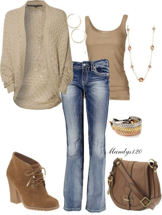 Minus the jacket and a darker wash on the jeans would be nice. This necklace is …