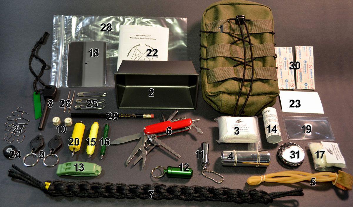 M40 Wilderness Survival Store | Survival equipment, Wilderness survival gear,  Wilderness survival