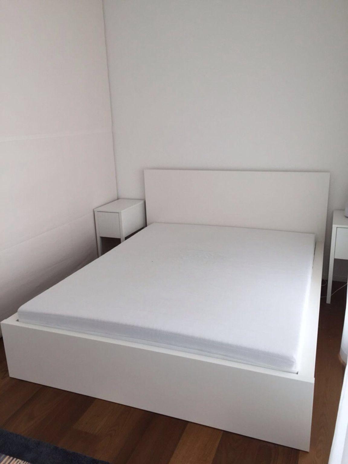 Bett Idee Ikea Malm Bett Malm Bett Bett 140x200 Weiss