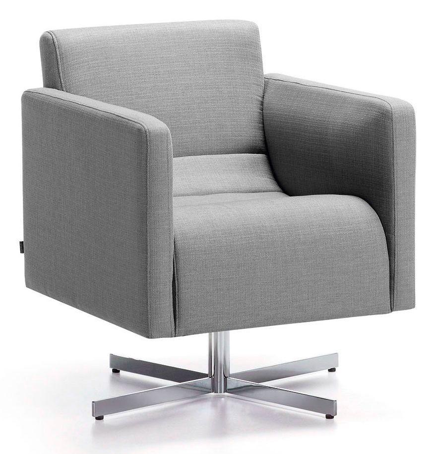 Cube fauteuil - LaForma - grijs