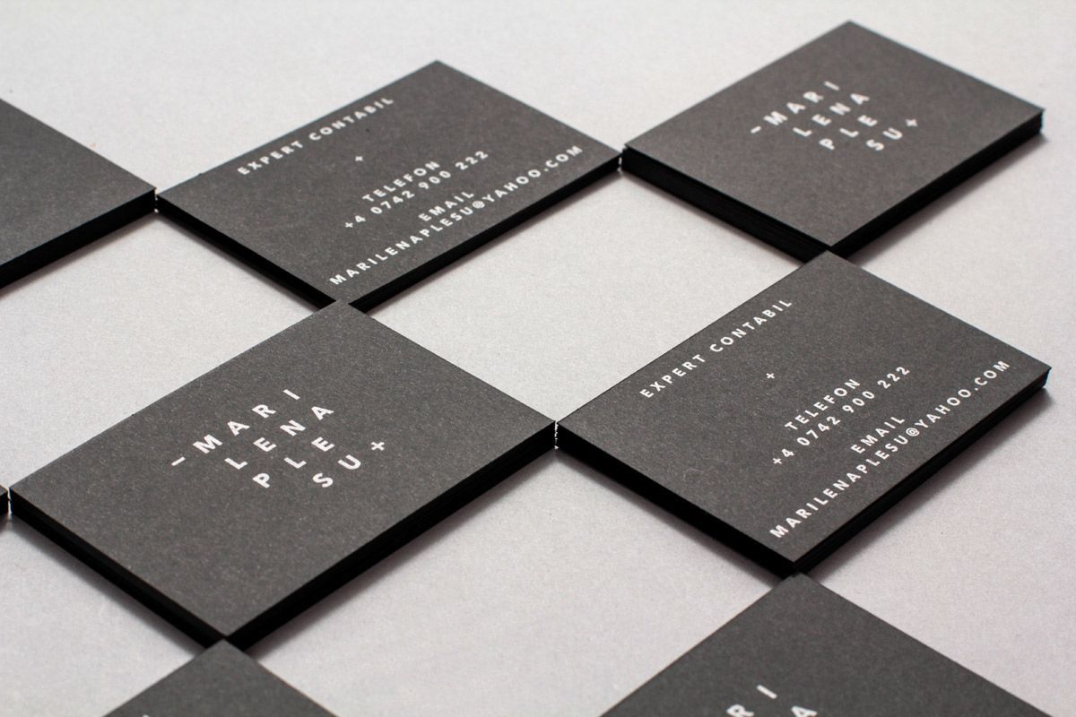 Simplicity and Adaptability in Business Cards by Markt Creative ...