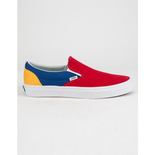 75483fcdbd43e2 Vans Yacht Club Classic Slip-On Shoes ( 50) ❤ liked on Polyvore featuring  men s fashion