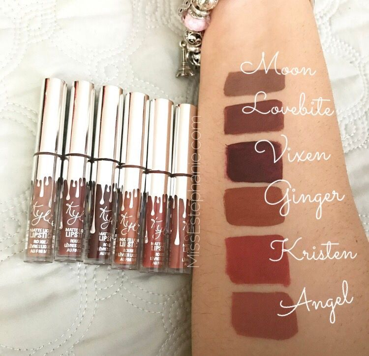 The Holiday Lip Trio by Kylie Cosmetics #17