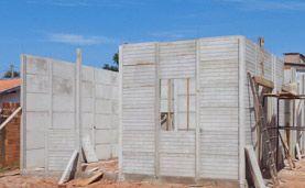 Kit Casa Pré Fabricada com 30m² em Concreto Armado por apenas R$ 4.400, + frete, 20 formas de pagamento