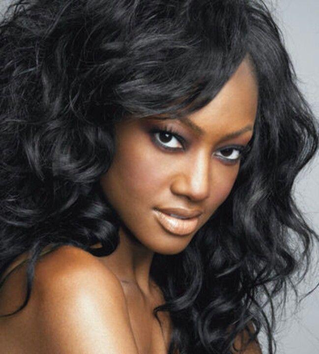 Jet Black loose waves | Hair/Black,African-American Women Style -Insp ...