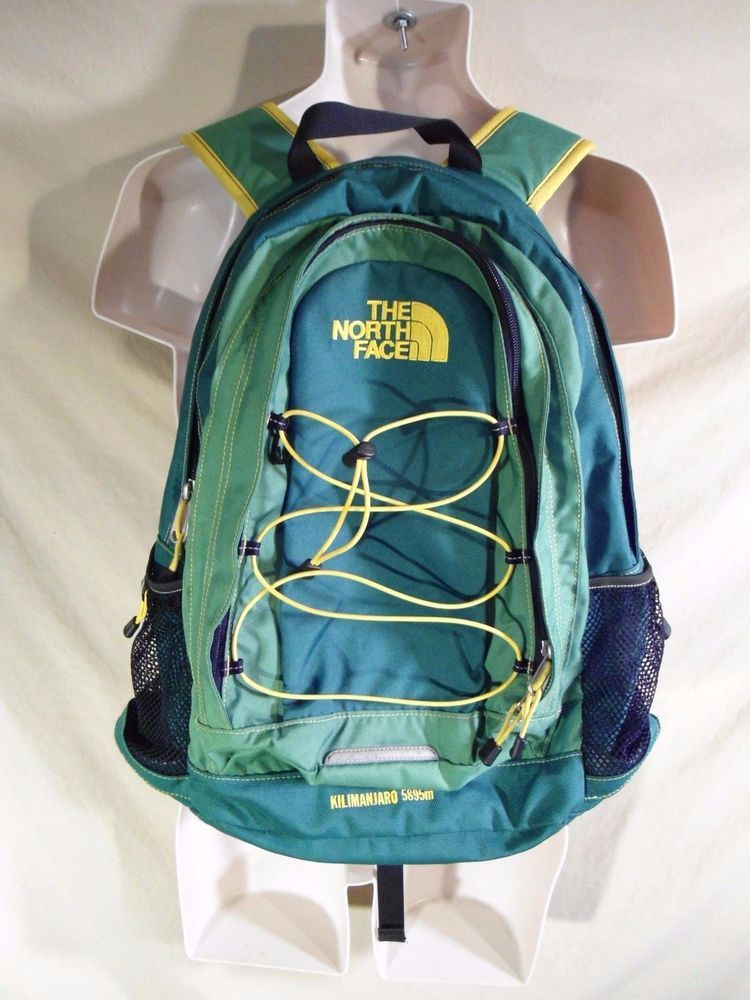 ba4e5faaf33b The North Face Kilimanjaro 5895m Daypack Backpack Carry-On Bag Green ...