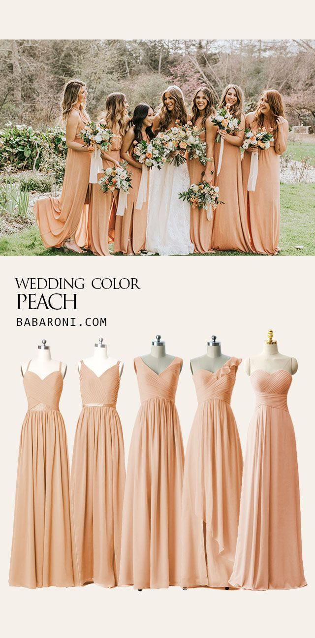 Bridesmaid Dresses Peach Bridesmaid Dresses Peach Color Bridesmaid Dresses Peach Wedding Dress