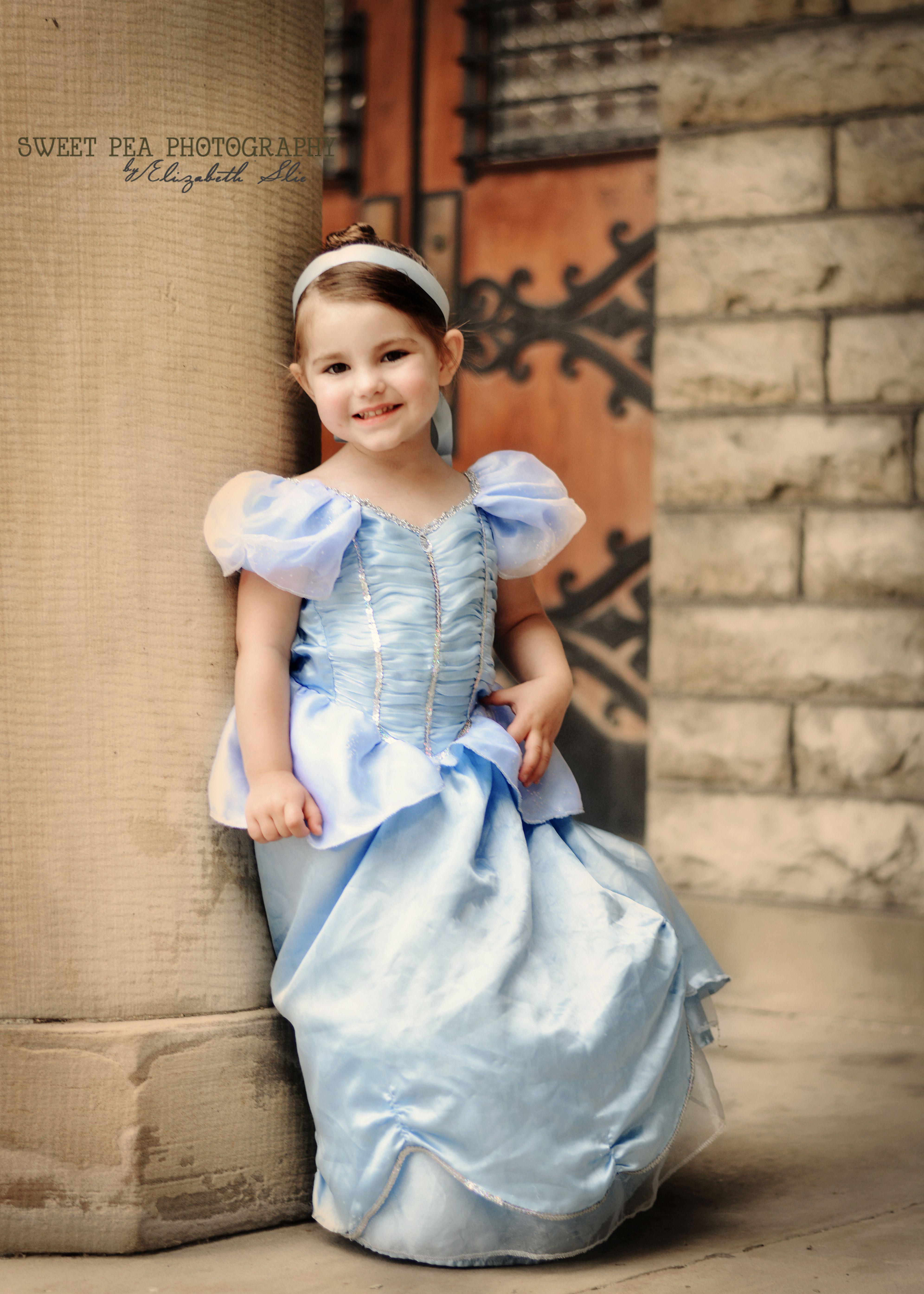Cinderella Fairy Tale Photo Shoot 3 Year Old Idea Disney Princess Sweet Pea Photography Norwalk Oh