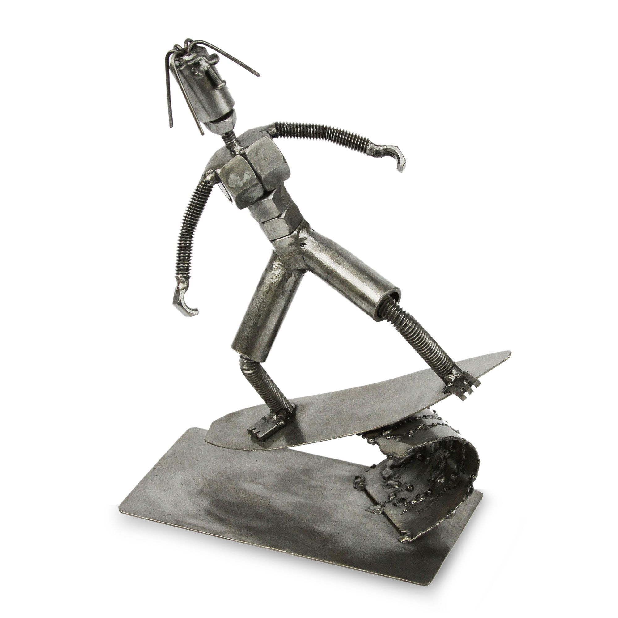 Recycled Metal \'Ride the Surf\' | GREAT GIFTS FOR SURFERS | Pinterest ...