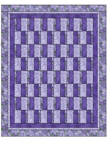 SIMPLY STRIPS 3 YD QUILT PATTERN
