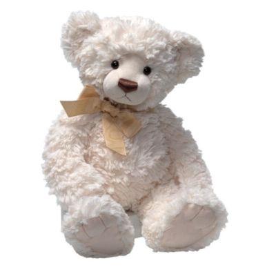 Cream white teddy bear