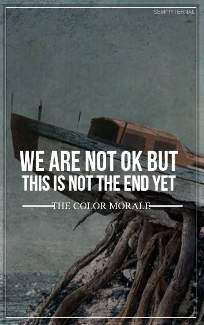 Strange Comfort The Color Morale Lyrically Speaking Music