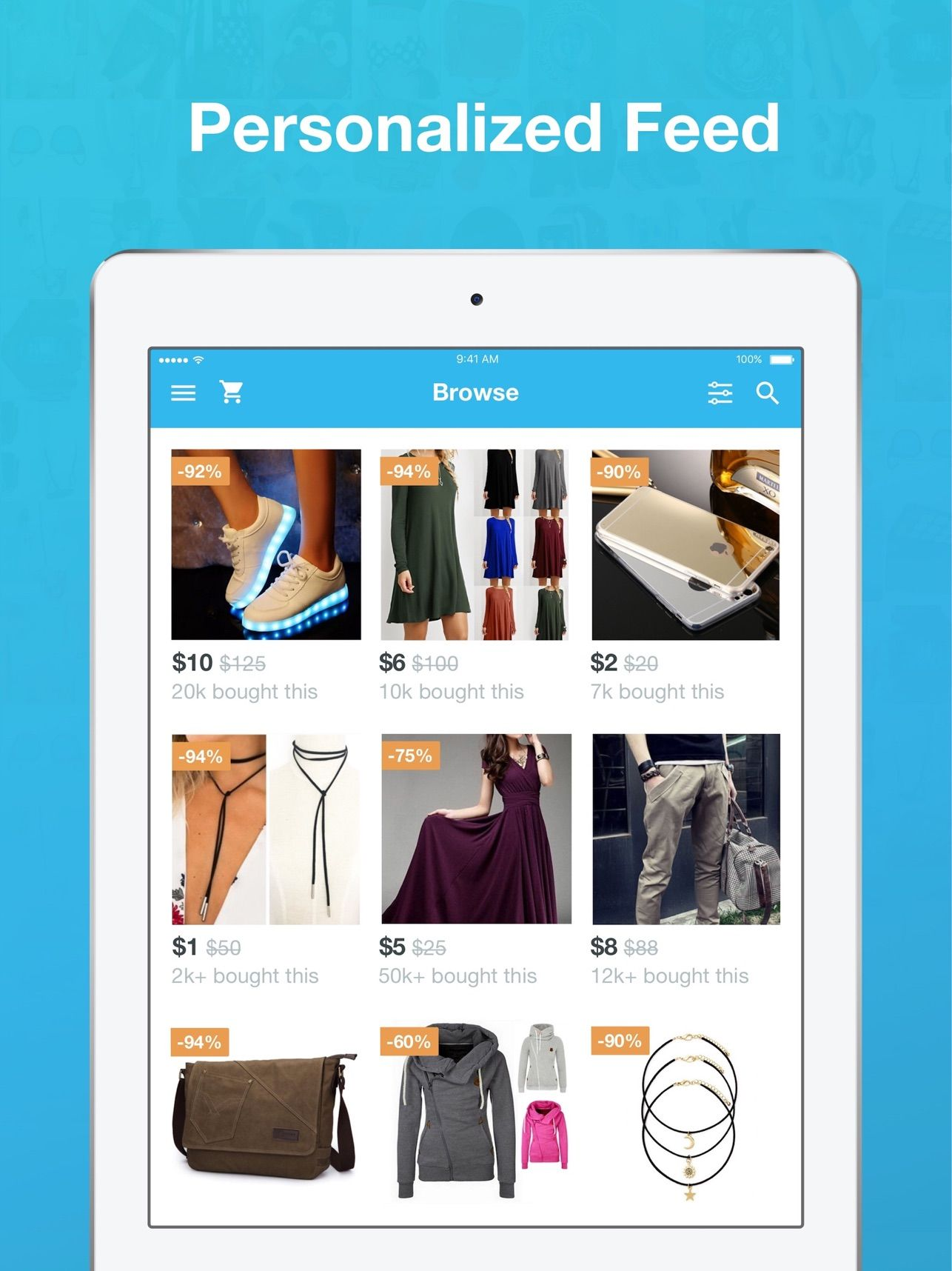 ‎Wish Shopping Made Fun on the App Store