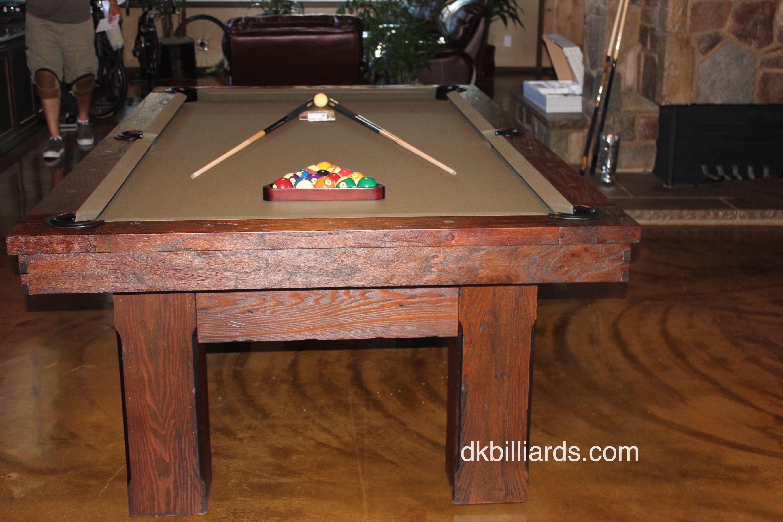 Rustic Style Watson DK Billiards Pool Table Moving Repair - Pool table removal near me