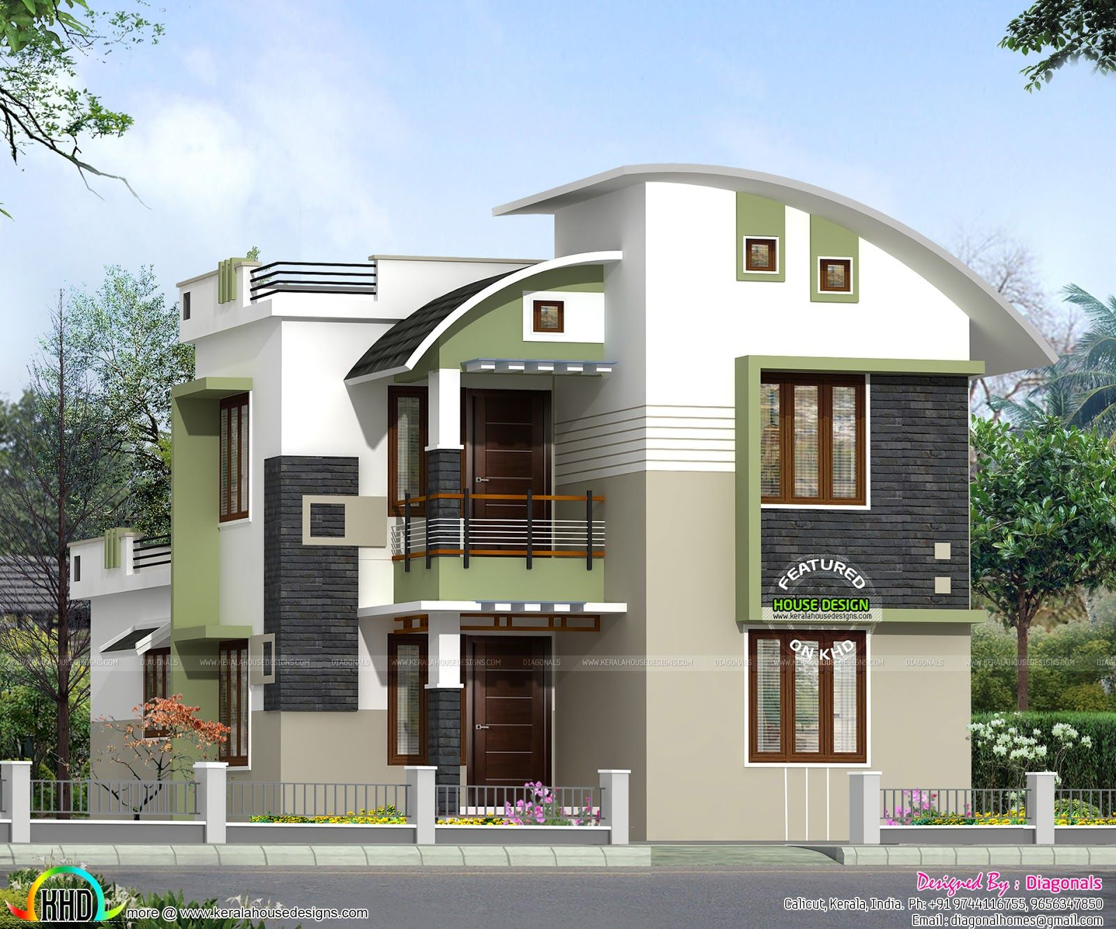 1500-sq-ft-double-floor-home.jpg (1600×1332) | Kerala ...