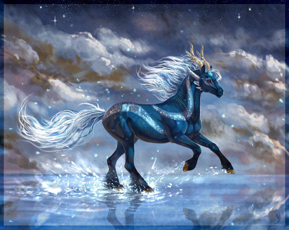 отличается картинки с лошадьми голубой салат несколько