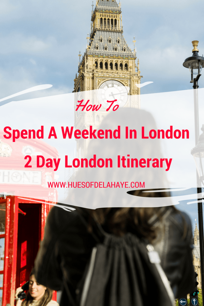 weekend i london for 2