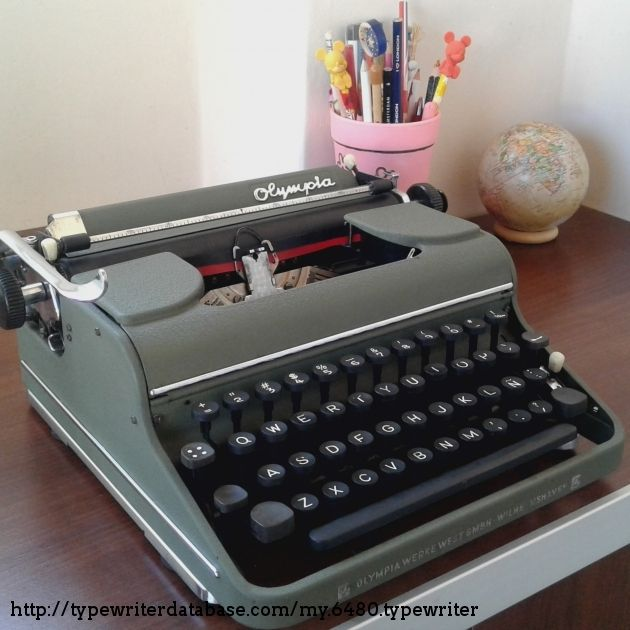 1951 Olympia Sm1 On The Typewriter Database Maquina De Escrever