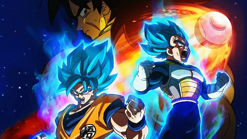 Goku Vegeta Super Saiyan Blue Dragon Ball Super Broly Movie 2018 Anime 3840x2160 4k Wallpaper In 2020 Dragon Ball Super Anime Dragon Ball