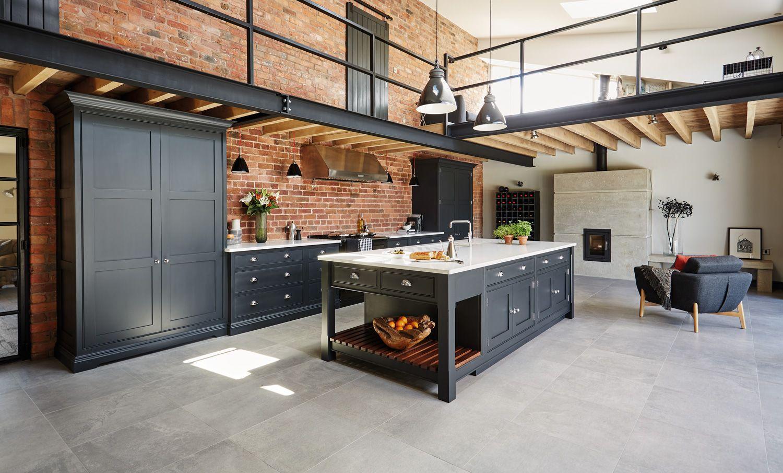 Industrial Style Shaker Kitchen | Industrial Design | Pinterest ...