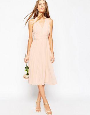 Vestido a media pierna Hollywood de ASOS WEDDING | Asos | Pinterest ...