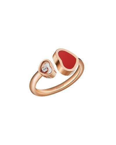 Chopard Happy Hearts Carnelian Stud Earrings F79coUnSi