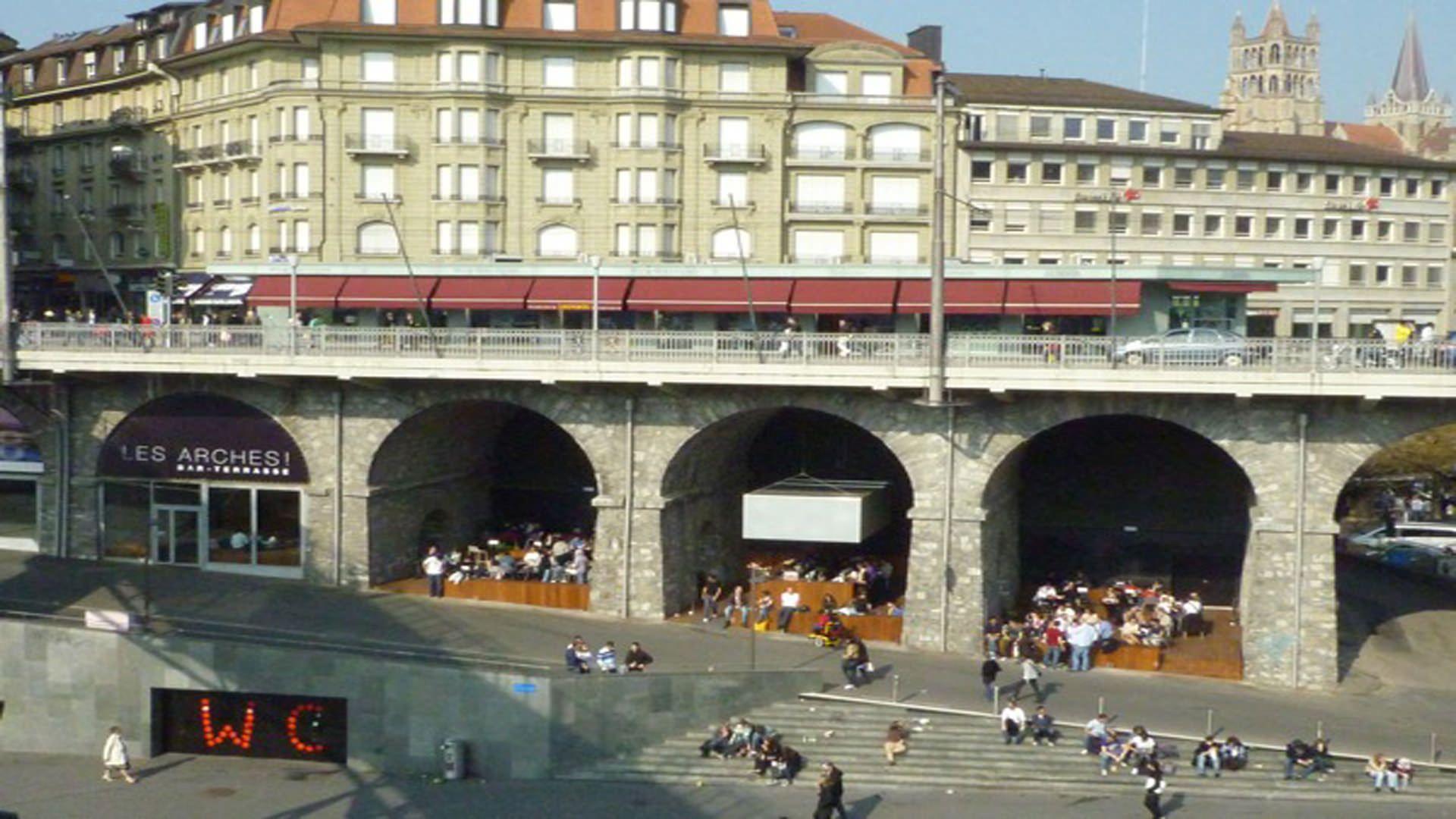 Swiss bureau interior design designed les arches lausanne