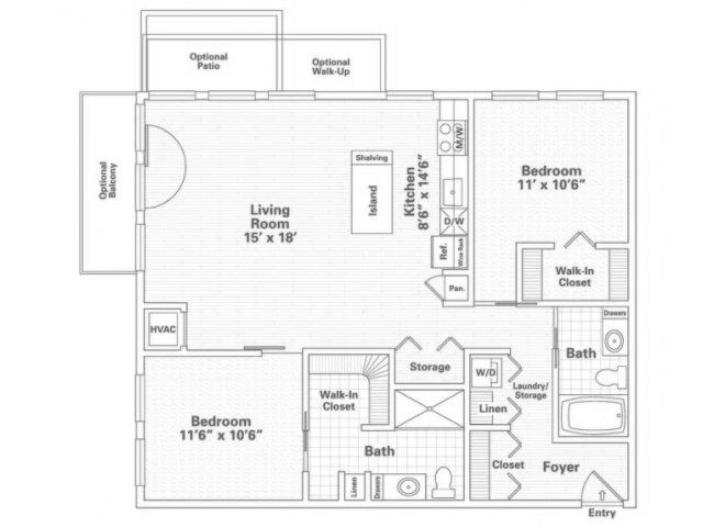 Eitel Building City Apartments Minneapolis Property Floorplans Floor Plans City Apartment Apartment Floor Plan