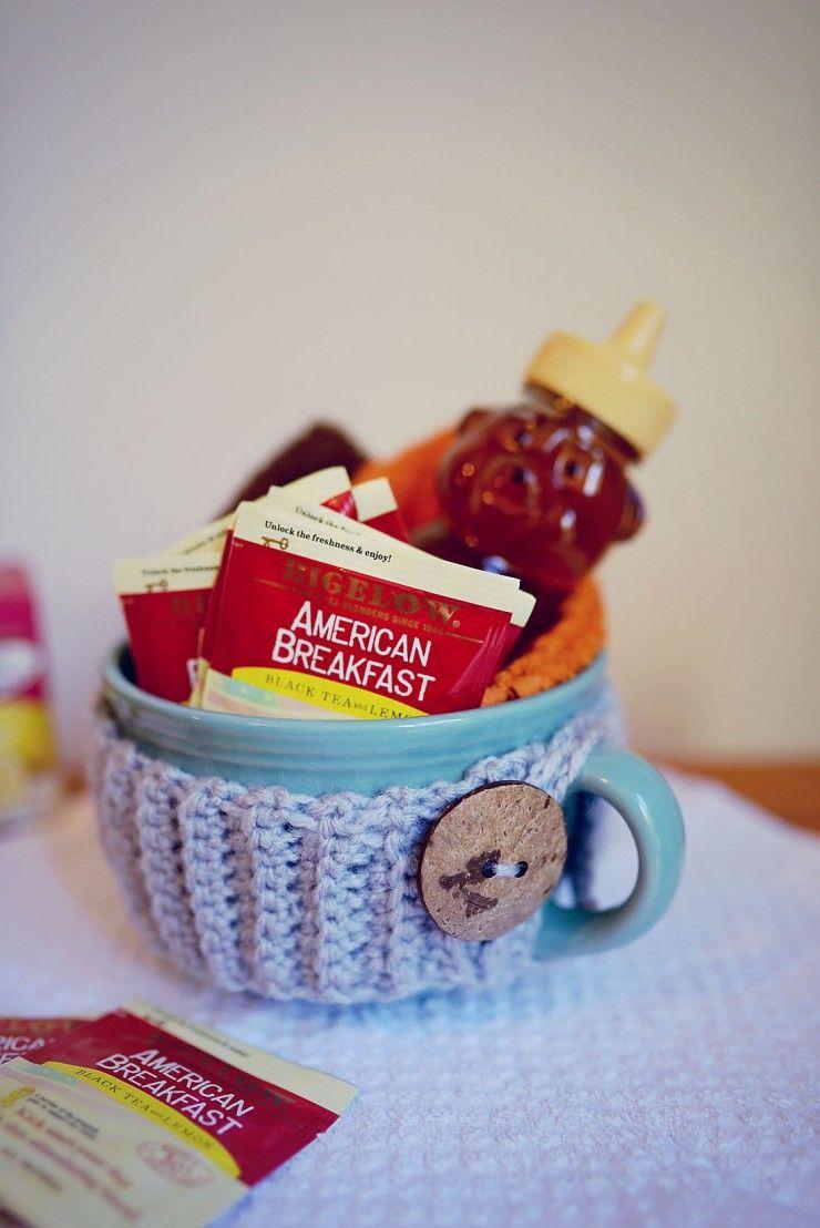 Tea Gift Basket for New Moms