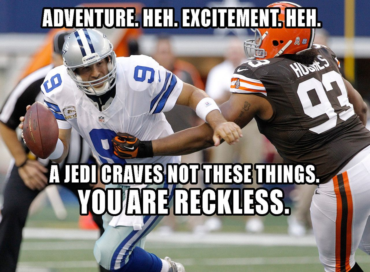 Tony Romo Star Wars Quotes Nfl With Images Star Wars
