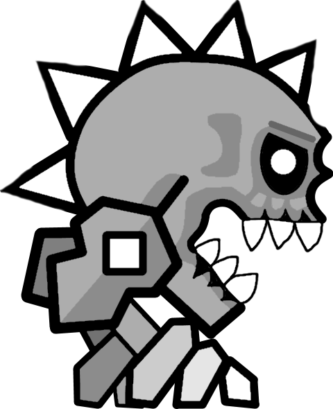 Geometry Dash Coloring Pages In 2020 Coloring Pages Spider Coloring Page Dash