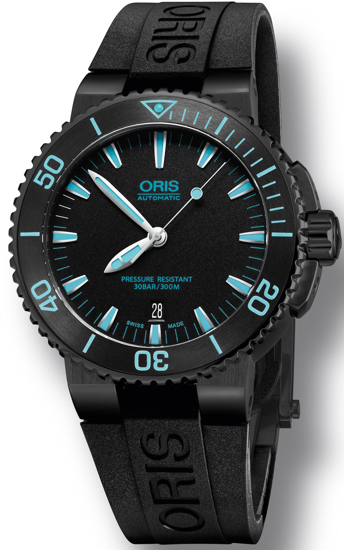 image oris bezel divers gaye with men watches watch ceramic mens francis s aquis automatic