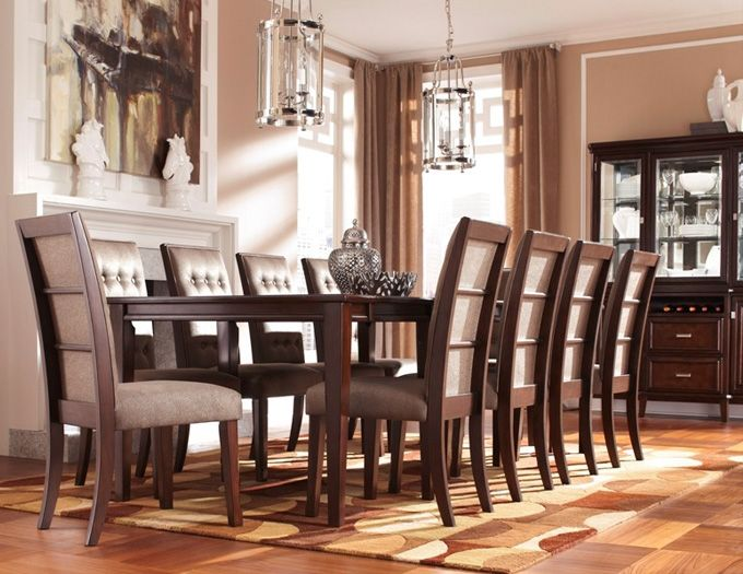 Table De Salle A Manger New As Is Meubles Neufs Ou Legerement Endommages Dining Room Table Ashley Furniture Wood Dining Room Table