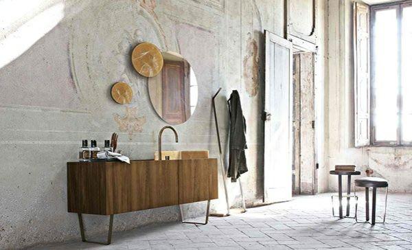 Möbel für bad  Badezimmer Unterschrank Holz Pinterest'te hakkında 1000'den fazla ...
