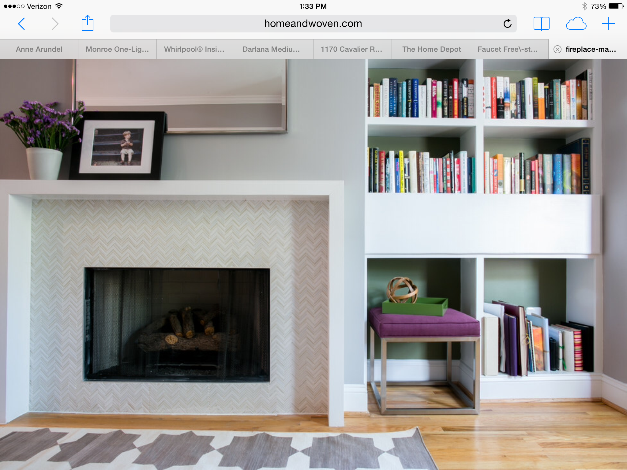 Pin by Ellyn McLaughlin on Fireplace   Contemporary ...
